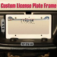License Plate Frame Thumbnail
