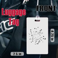 Rectangle Luggage Tag Thumbnail